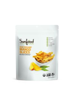 Sunfood Raw Organic Mango Slices