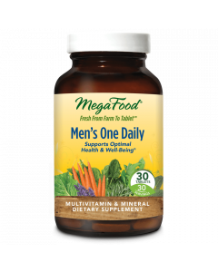 MegaFood Men's One Daily Multivitamin, 30 Tablets