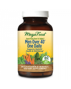 MegaFood Men Over 40 One Daily Multivitamin, 60 Tablets