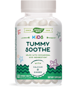 Nature's Way Tummy Soothe, 60 Chewables