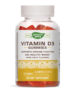 Nature's Way Vitamin D3 Gummies, 120 Count