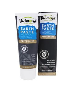 Redmond Earthpaste, Peppermint with Charcoal