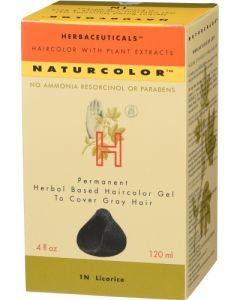 Naturcolor 1N Licorice Natural Hair Color