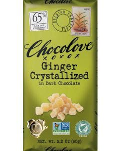 Chocolove Ginger Crystalized in Dark Chocolate