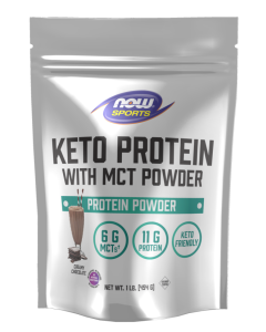 Keto Protein with MCT, Creamy Chocolate - 1 lb. Powder