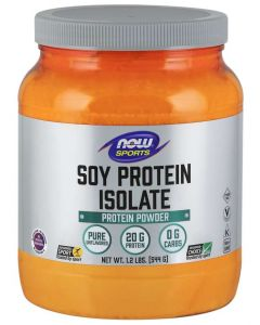 Soy Protein Isolate, Unflavored Powder - 1.2 lbs.