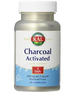 KAL Charcoal Activated, 50 Capsules