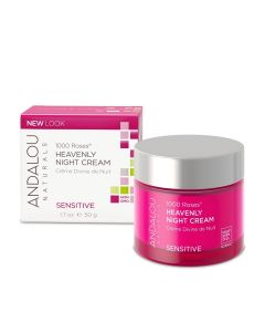 Andalou Naturals 1000 Roses Heavenly Night Cream, 1.7 oz.