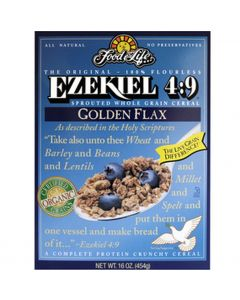 Food For Life Ezekiel 4:9 Flax Sprouted Whole Grain Cereal, 16 oz.