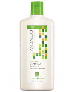 Andalou Naturals Exotic Marula Oil Silky Smooth Shampoo, 11.5 fl. oz.