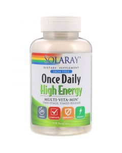 Solaray Once Daily High Energy Multivitamin, 120 Capsules