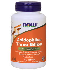 Acidophilus Three Billion  - 180 Tablets