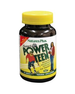Nature's Plus Source of Life Power Teen Multivitamin, 90 Tablets