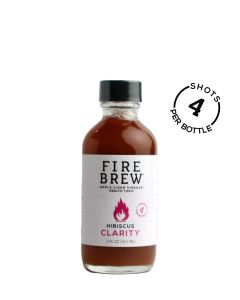 Fire Brew Hibiscus with Raspberry Leaf Clarity Blend, 2 fl. oz.