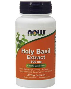 Holy Basil Extract 500 mg - 90 Veg Capsules