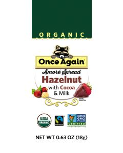 Once Again Organic Amoré Hazelnut Spread Squeeze Pack