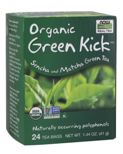 Green Kick™ Tea, Organic - 24 Tea Bags