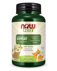 Cardiovascular Support for Dogs & Cats - 4.5 oz. Powder