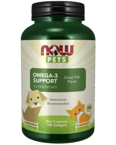 Omega-3 Support - 180 Softgels for Pets