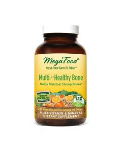 MegaFood Multi For Healthy Bone, 120 Tablets
