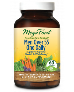 MegaFood Men Over 55 One Daily, 60 Tablets