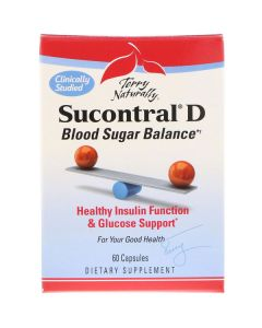 Terry Naturally Sucontral D, 60 Capsules