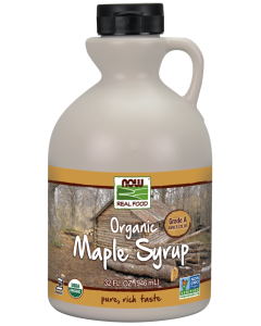 Maple Syrup, Organic Grade A Amber Color - 32 oz.