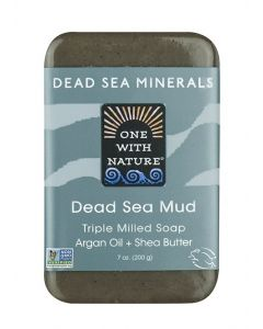 One With Nature Dead Sea Mineral Mud Soap