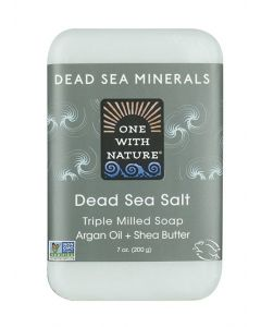 One With Nature Dead Sea Minerals Dead Sea Salt Soap Bar
