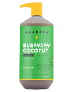 Alaffia Everyday Coconut Body Wash, Coconut Lime