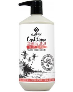 Alaffia Coconut Conditioner, Coconut & Ginger, 32 fl. oz.