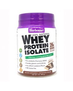 Bluebonnet Whey Protein Isolate Chocolate, 1 lb.