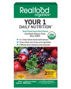 Country Life Your 1 Daily Nutrition Realfood Organics, 60 Tablets
