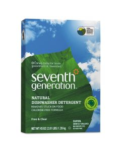 Seventh Generation Free & Clear Dishwasher Detergent Powder, 45 oz.