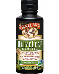 Barlean's Olive Leaf Complex Peppermint, 8 oz.