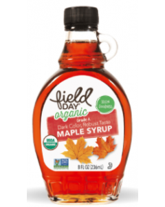 Field Day Organic Grade A Maple Syrup, 8 oz.