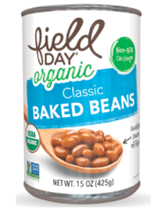 Field Day Organic Baked Beans - Main