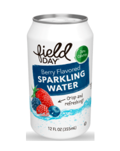 Field Day Berry Sparkling Water - Main