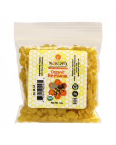 Inesscents Organic Beeswax Pellets, 1 oz.