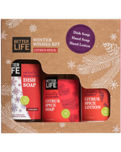 Better Life Winter Wishes Soap & Lotion Gift Pack