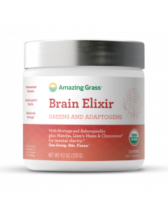 Amazing Grass Brain Elixir Green Superfood, 4.2 oz.