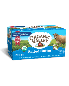 Organic Valley Salted Butter, 1 lb.