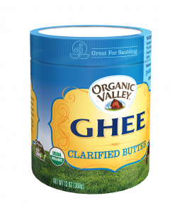 Organic Valley Ghee, Clarified Butter, 13 oz.
