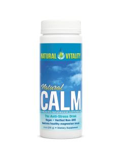 Natural Vitality Unflavored Natural Calm, 8 oz.