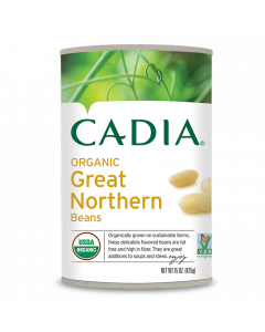 Cadia Organic Great Northern Beans