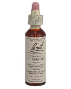 Bach Clematis Homeopathic Remedy, 20ml