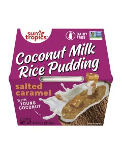Sun Tropics Coconut Milk Rice Pudding, Salted Caramel