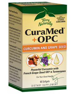 Terry Naturally CuraMed + OPC, 60 Capsules