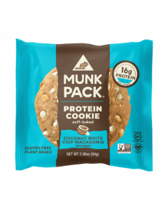 Munk Pack Protein Cookie, Coconut White Chip Macadamia
