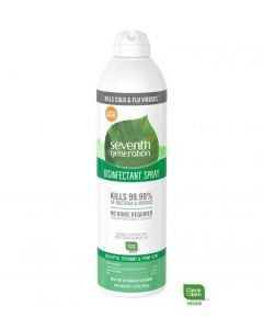 Seventh Generation Eucalyptus, Spearmint & Thyme Disinfectant Spray, 13.9 oz.